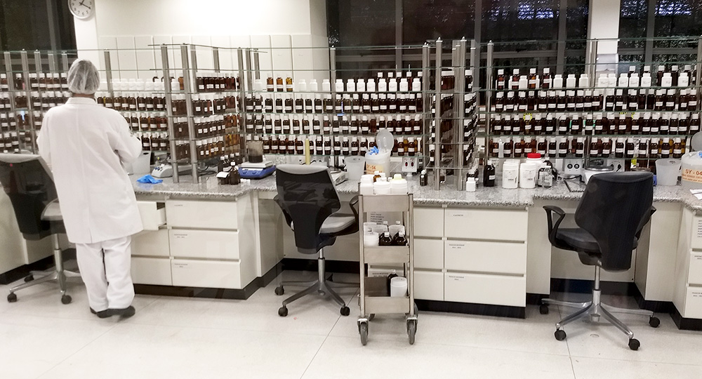 Mobiliários para Laboratórios da Indústria Alimentícia