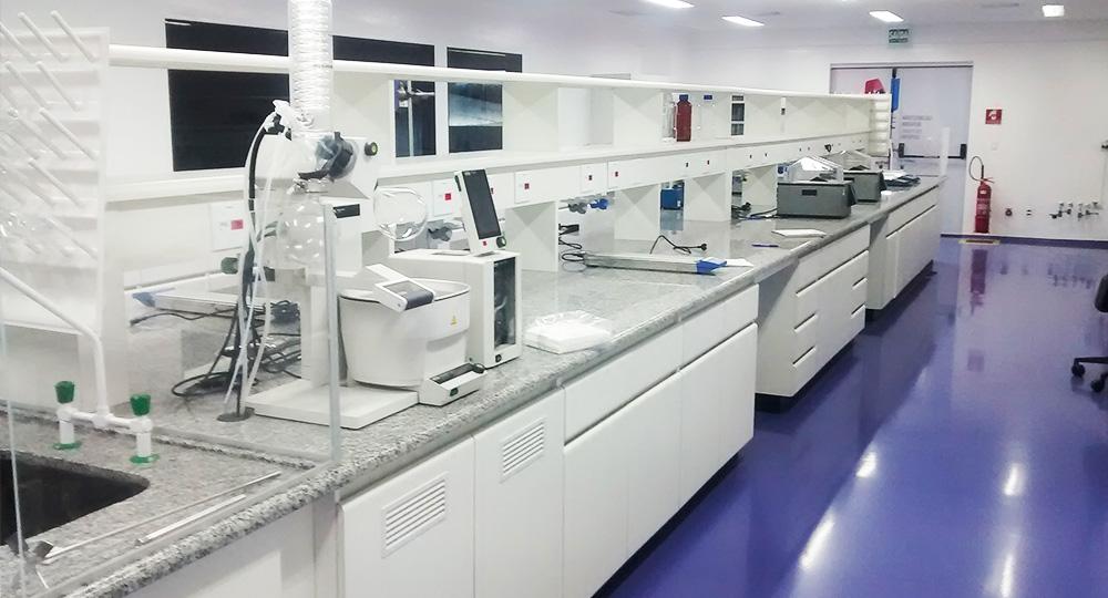 Mobiliários para Laboratórios Farmacêutico