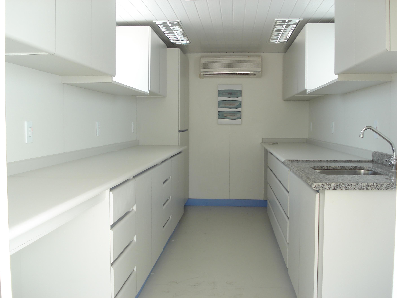 Mobiliário para Laboratório Móvel